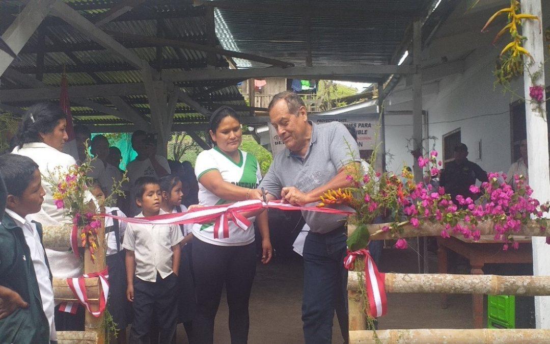 DETEC Inauguró Estación de Tecnología Agroforestal (ERTA) en Montevideo-Chaglla-Huánuco.