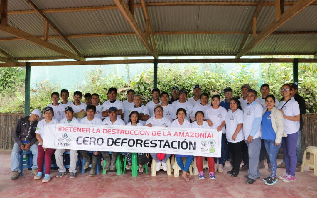 Campaña Nacional Cero Deforestación, labor constante de sensibilización y acción conjunta para la defensa de la Amazonía peruana.