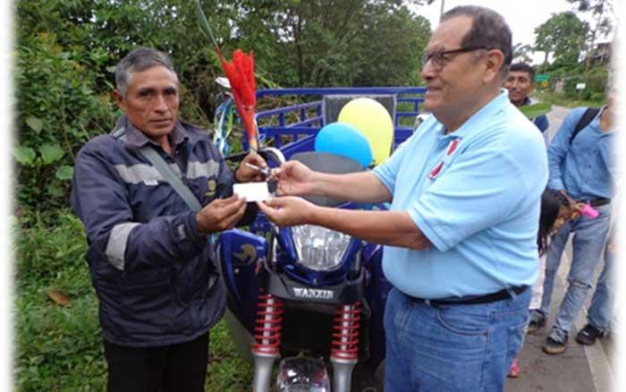 DETEC inauguró la primera Estación de Tecnología Agroforestal (ERTA) en Hermilio Valdizan
