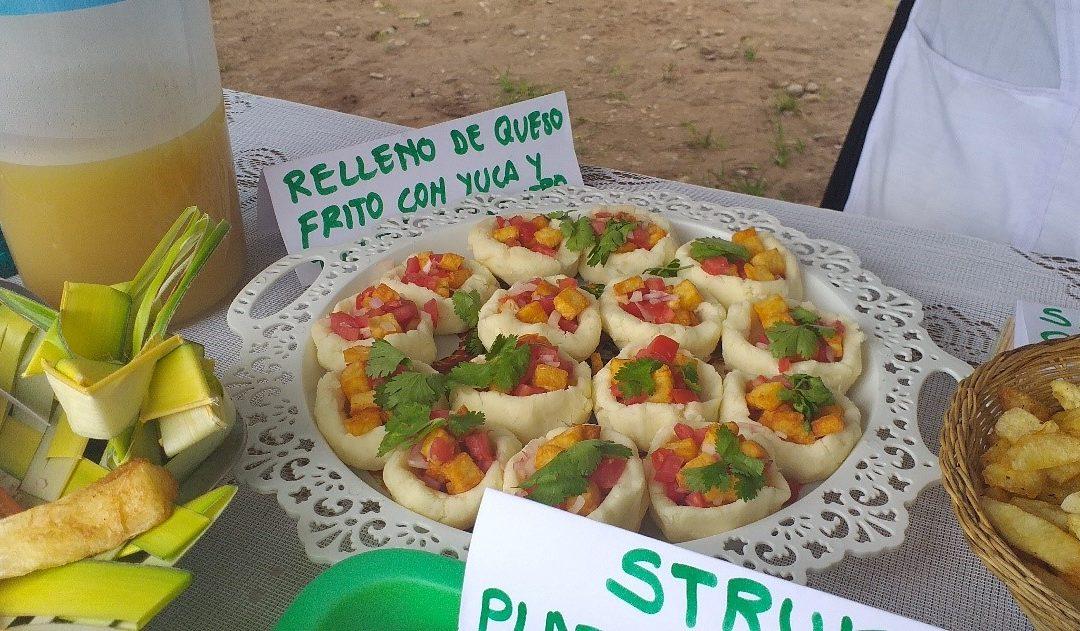 Montevideo-Chaglla, promueve la gastronomía variada en base a productos derivados de queso y participa de feria gastronómica en celebración de su aniversario